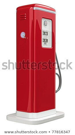 gasoline fuel nozzle bottom view isolated stock photo © cherezoff