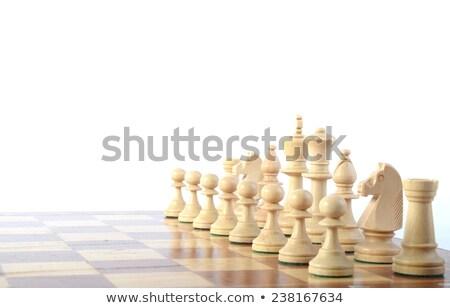 Chess starting position Stock photo © vtls