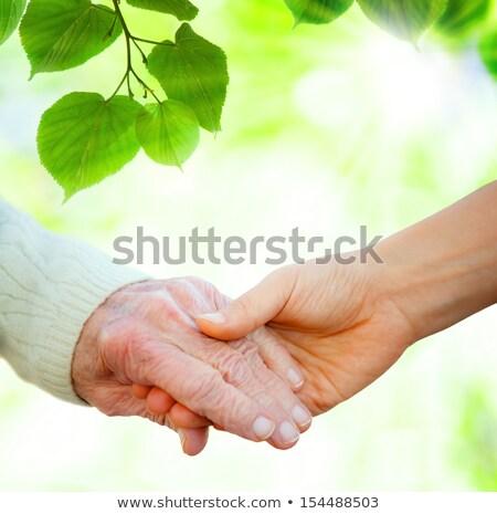 Handen helpen heldere vergadering lichaam groep Stockfoto © tetkoren
