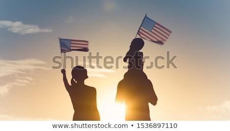 Stock fotó: American Immigration