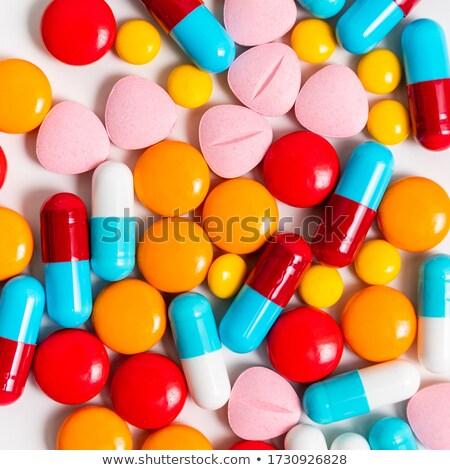 Médicaux pilules médecin malade pilule pharmacie Photo stock © shutswis