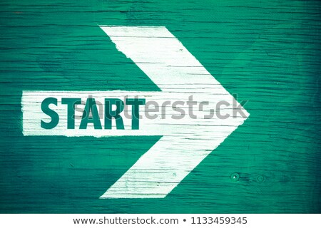 Risco texto verde conselho grupo Foto stock © fuzzbones0