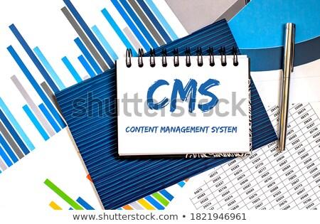 接着剤 · ノート · 図 · 黒板 · ビジネス · フレーム - ストックフォト © fuzzbones0
