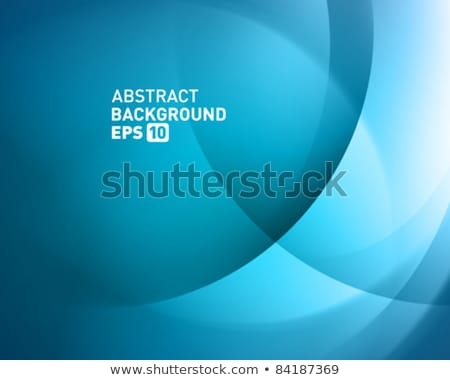 Abstract blue background with smooth lines. EPS 10 Stock photo © beholdereye