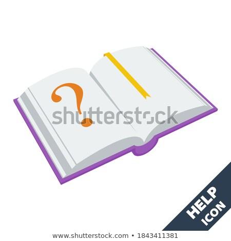 Archive Logo Design with Orange Background Stock photo © sdCrea