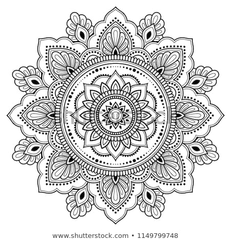Mandala etnische ornament Tribal vector Stockfoto © frescomovie