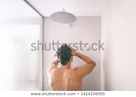 Man Taking a Shower Stock photo © cteconsulting