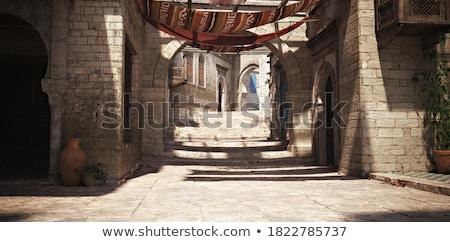 vecchio · vicolo · città · vecchia · costruzione · castello · mattone - foto d'archivio © Pozn