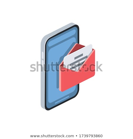 email marketing   modern colorful isometric vector illustration stock photo © decorwithme