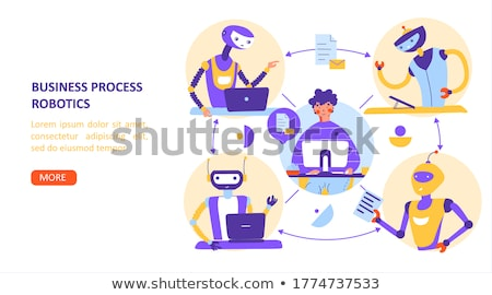 Stock photo: Business Analysis It Concept Vector Illustration