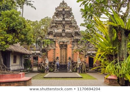 Ubud Palace Puri Saren Agung at Ubud, Bali, Indonesia Stock photo © galitskaya