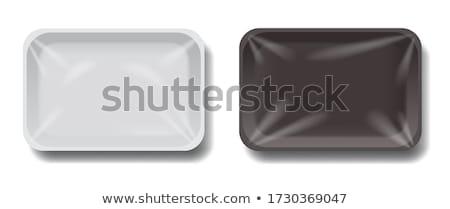 vector set of plastic container stock photo © olllikeballoon