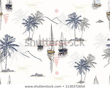 japan travel pattern stock photo © netkov1
