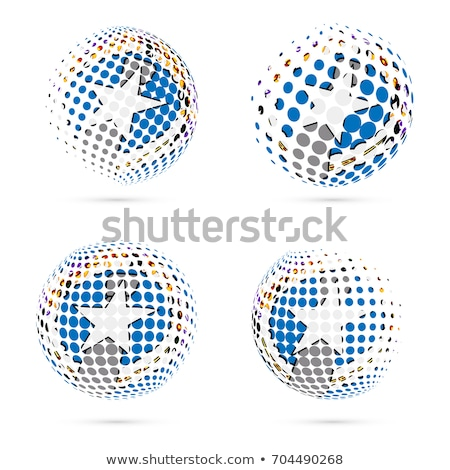 Flag of the Commonwealth of the Northern Mariana Islands  Stock photo © grafvision