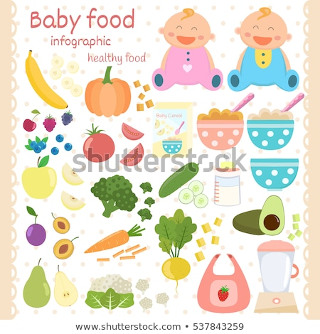 baby food blender icon stock photo © angelp