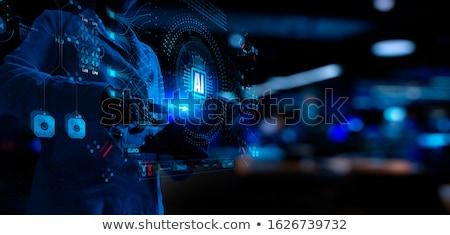 Stock fotó: üzletasszony · gép · tanul · üzlet · nő · internet