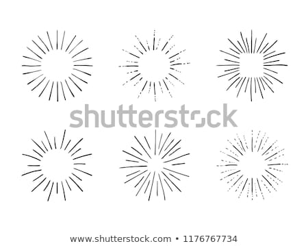 ingesteld · licht · stralen · zon · ontwerp · communie - stockfoto © kyryloff
