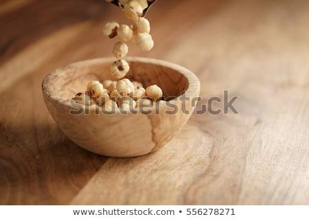 Descascado comida tabela grupo Foto stock © Alex9500