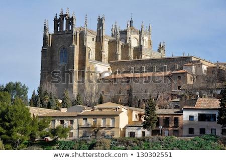 монастырь · святой · Испания · мнение · Сан-Хуан · реке - Сток-фото © borisb17