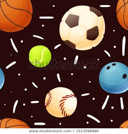 Different types of sports on white background Stock photo © bluering