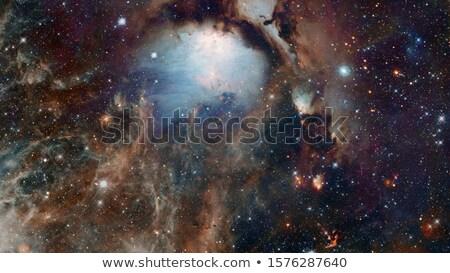 宇宙飛行士 宇宙 星雲 星 要素 画像 ストックフォト © NASA_images