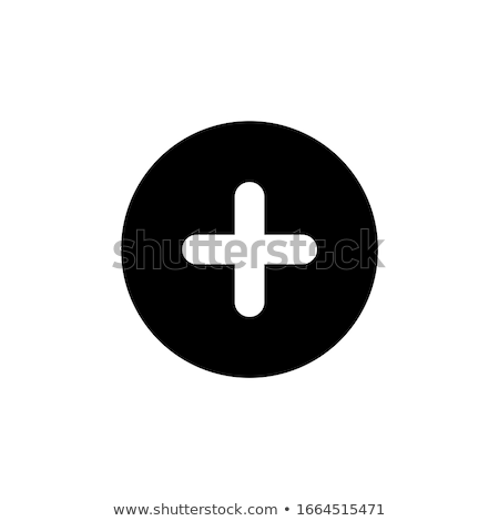 Add plus cross icon. Addition math sign. Medical health symbol. Stock Vector illustration isolated o Stock photo © kyryloff