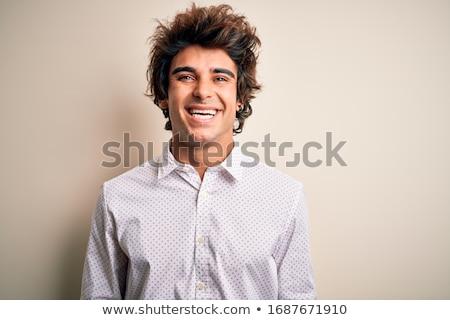 Front portrait of laughing businessman Stock photo © Giulio_Fornasar