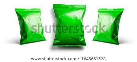 зеленый упаковка шаблон дизайна различный белый Сток-фото © butenkow