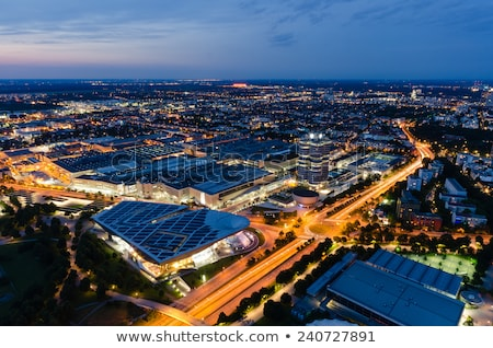 Noche Munich Alemania torre cielo Foto stock © dmitry_rukhlenko