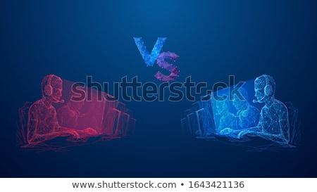 トーナメント 抽象的な ベクトル イラスト セット チーム ストックフォト © RAStudio