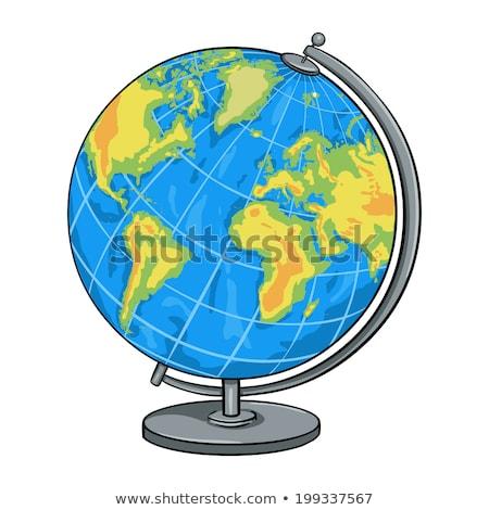 Cartoon Globus Stock photo © adamson