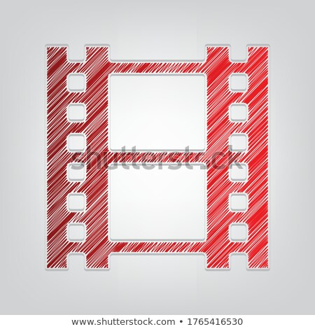 35 redgrey icons stock photo © gaudiums