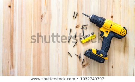 Cordless Drill Stock photo © kitch