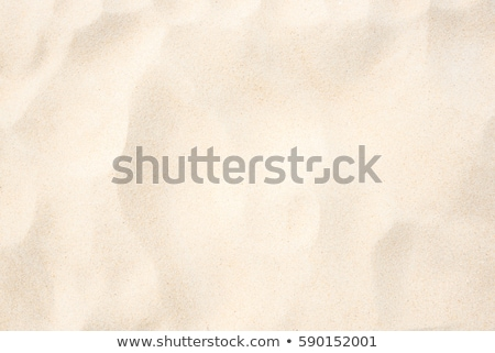 Tengerparti homok közelkép textúra háttér keret nyár Stock fotó © ozaiachin