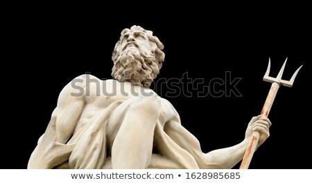 Heykel İtalya akdeniz Avrupa adam dizayn Stok fotoğraf © angelp