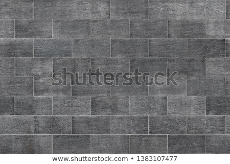 Square fragment of tiled wall Stock photo © pzaxe