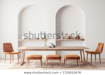 Modern dining chair Stock photo © lkeskinen