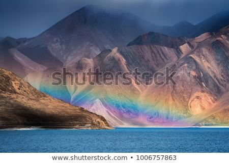 Scenic mountain landscape in Ladakh, India Stock photo © haraldmuc