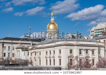 Trenton, New Jersey - State Capitol Building Stock photo © benkrut