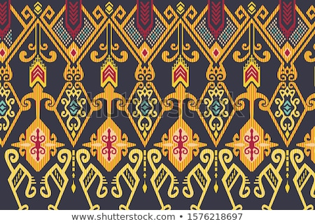 Ethnic vector pattern in the Indonesian style Stock photo © pzaxe