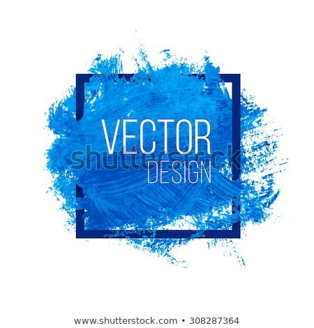 blue ink splat banner Stock photo © nicemonkey