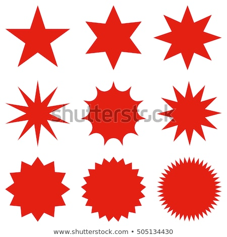 sale in red star stock photo © marinini