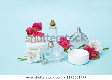 perfume · quadro · garrafa · mulher · moda - foto stock © oneinamillion