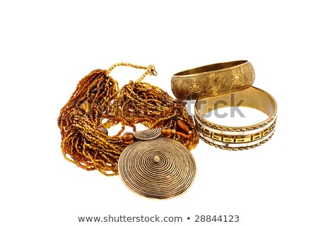 Two Copper Bracelets Stock photo © 2tun