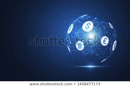 globe with currency symbols in abstract design stock photo © 4designersart