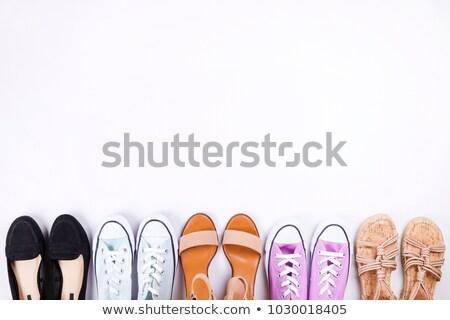 Classical women's shoes, sandals Stock photo © alekleks