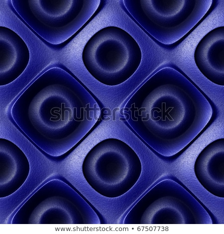 Seamless Tileable Texture of Blue Leather Surface. Stock photo © tashatuvango