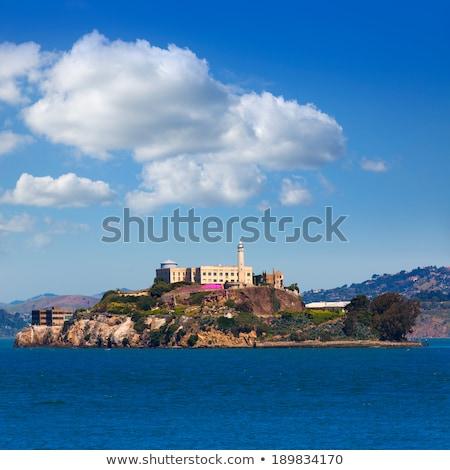 水 · 塔 · 島 · 連邦政府の · 空 · 風景 - ストックフォト © frankljr