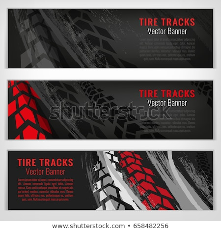 abstract background with motorcycle image vector illustration stock photo © leonido