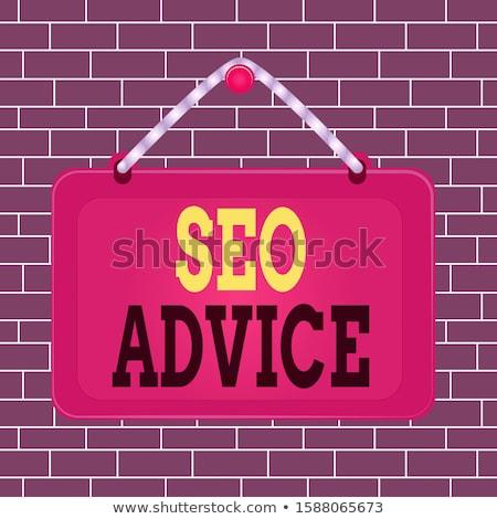 Advice in Search String on Smartphone. Stock photo © tashatuvango